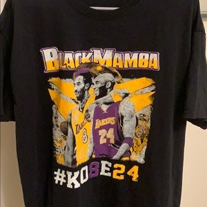 Kobe Memorial T Shirt Size L Worn Once